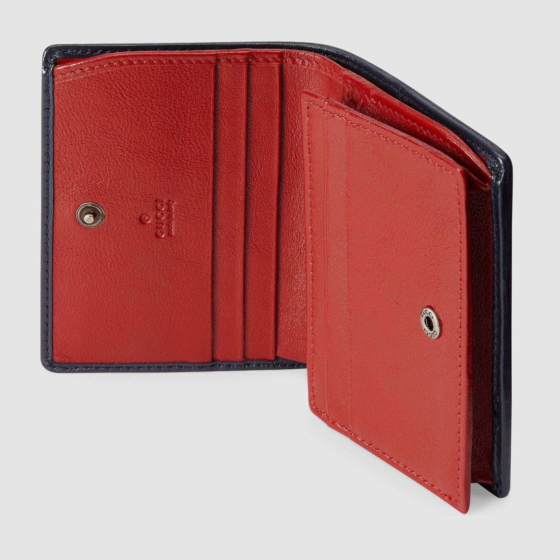 유럽직배송 구찌 GUCCI Gucci GG Marmont Multicolour case wallet 4664922UZFN4166