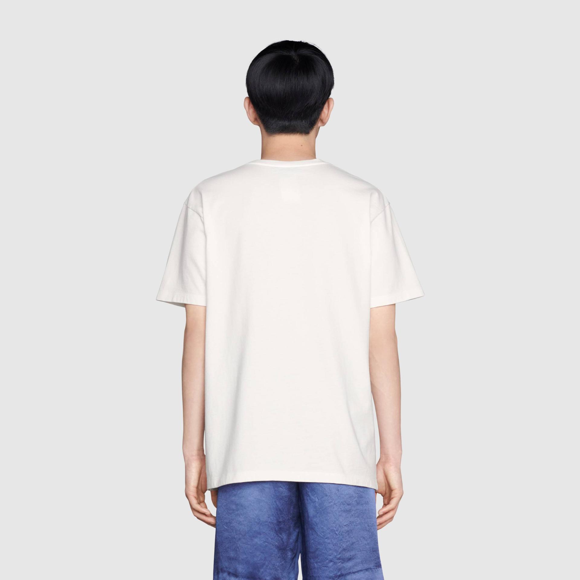 유럽직배송 구찌 GUCCI Gucci Online Exclusive Freya Hartas ICCUG print t-shirt 548334XJDJV9095