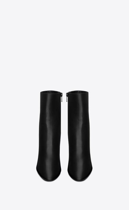 유럽직배송 입생로랑 SAINT LAURENT 68 booties in smooth leather 6581512W7001000