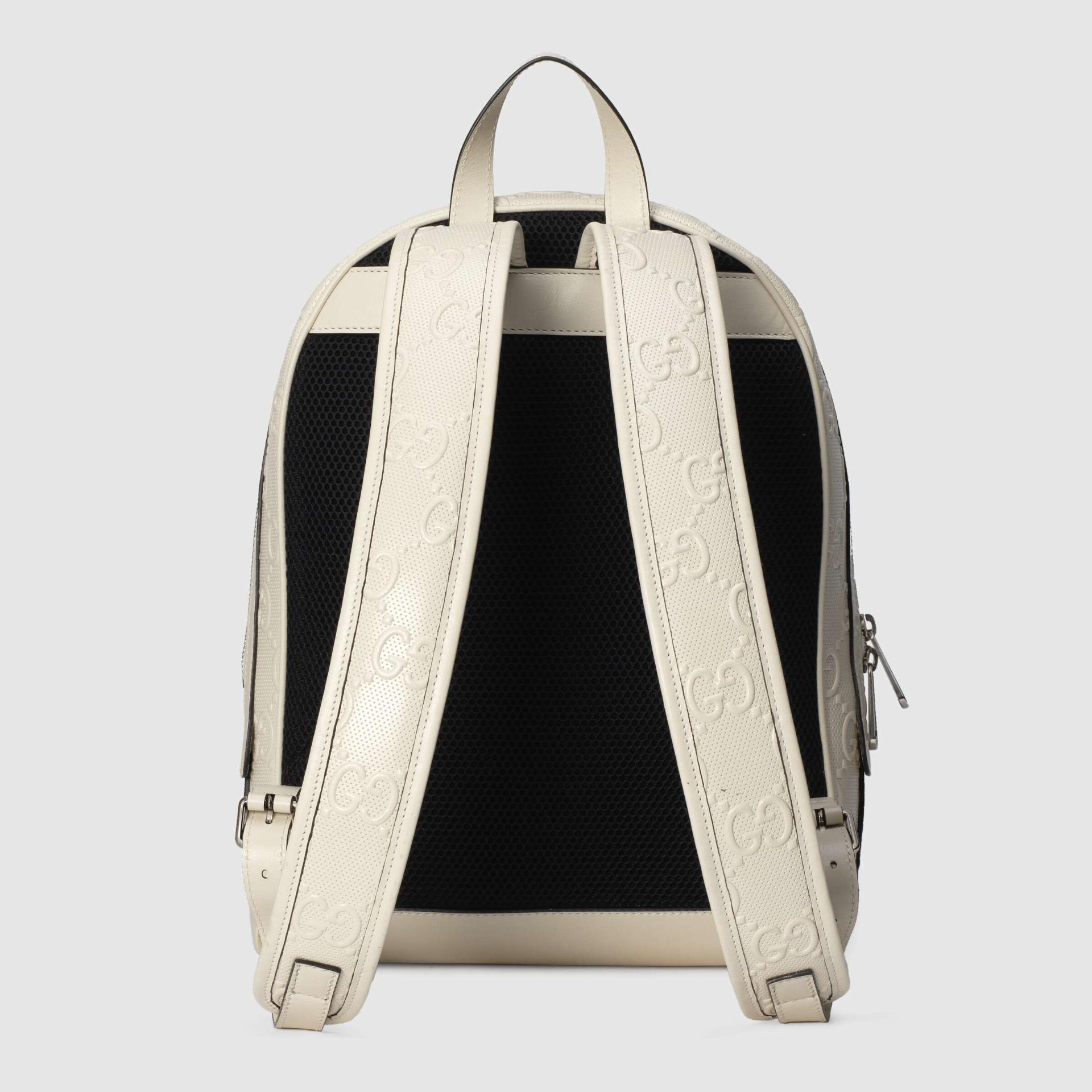 유럽직배송 구찌 GUCCI Gucci GG embossed backpack 6585791W3BN9099