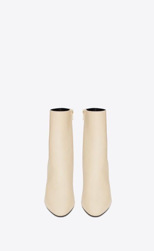 유럽직배송 입생로랑 SAINT LAURENT 68 booties in smooth leather 6581512W7009225