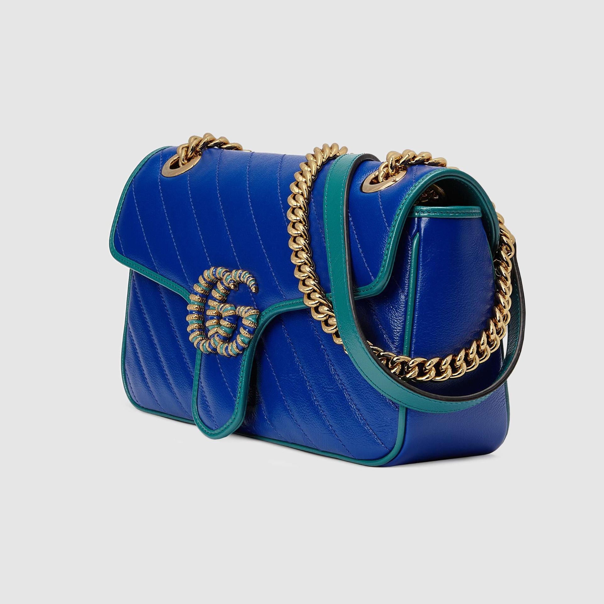 유럽직배송 구찌 GUCCI Gucci GG Marmont small shoulder bag 4434971X5EG8382