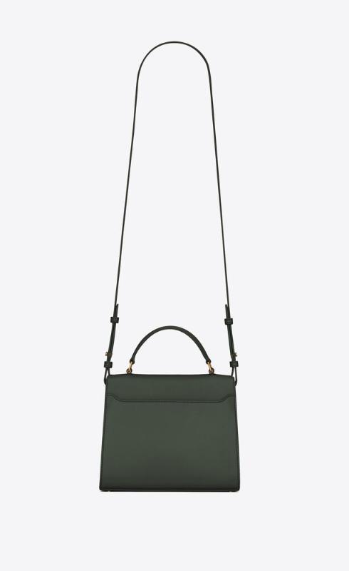 유럽직배송 입생로랑 SAINT LAURENT cassandra mini top handle bag in box saint laurent leather and suede 6239300SXSW3045