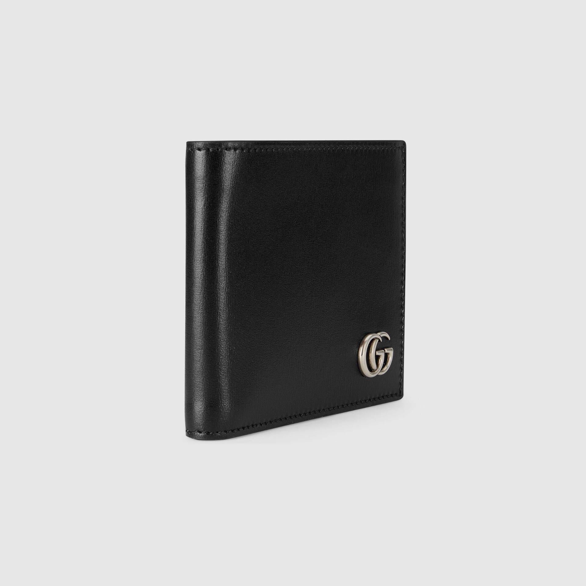 유럽직배송 구찌 GUCCI Gucci GG Marmont leather bi-fold wallet 4287260YK0N1000