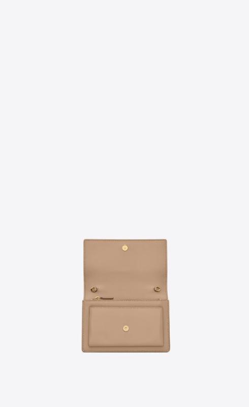 유럽직배송 입생로랑 SAINT LAURENT sunset chain wallet in smooth leather 533026D422W2721