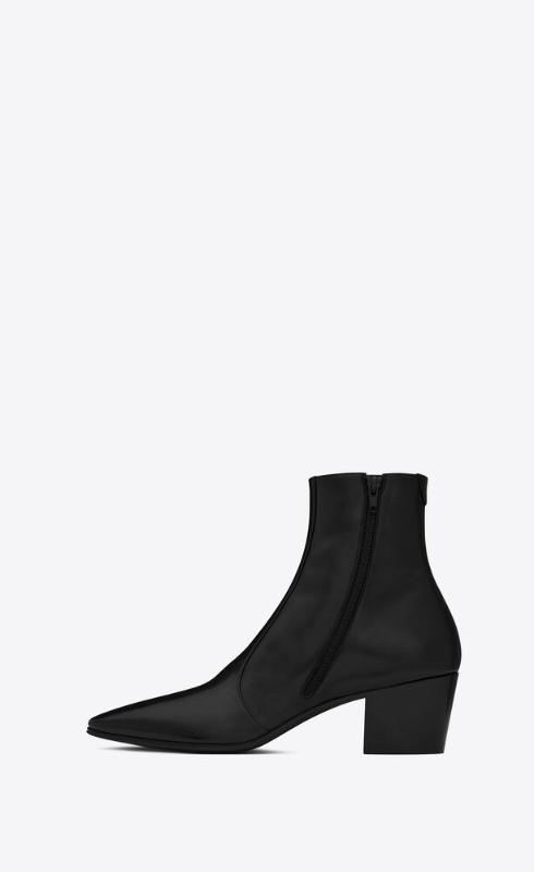 유럽직배송 입생로랑 SAINT LAURENT vassili zipped boots in smooth leather 66762025N001000