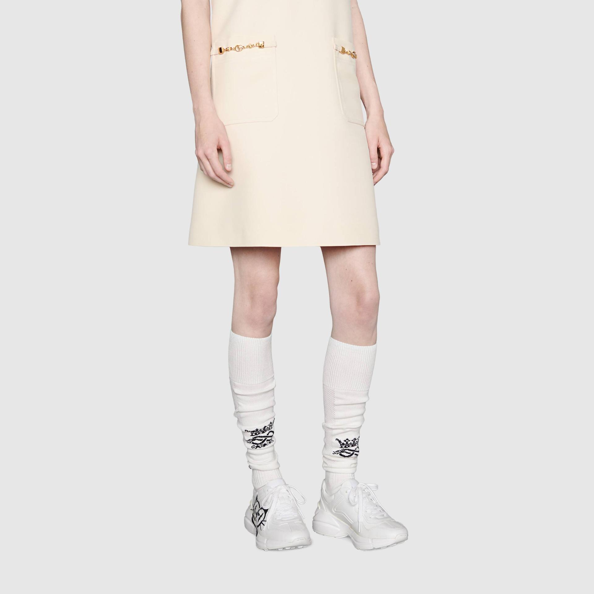 유럽직배송 구찌 GUCCI Gucci Women's Rhyton sneaker with cat eyes 6637232SH009014