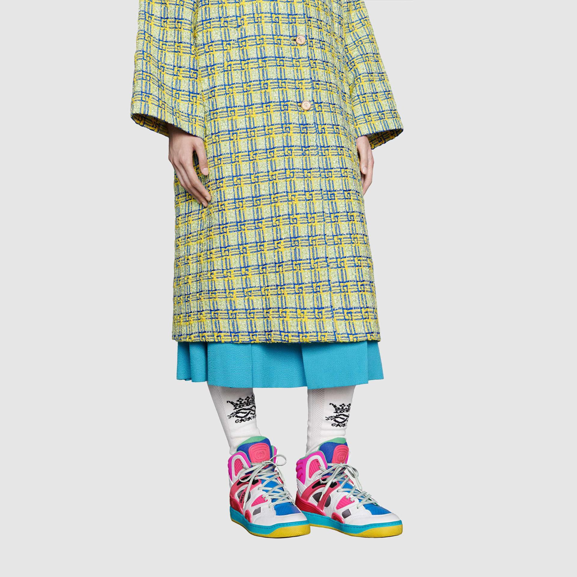 유럽직배송 구찌 GUCCI Gucci - Women's Gucci Basket sneaker 6613112SH809063