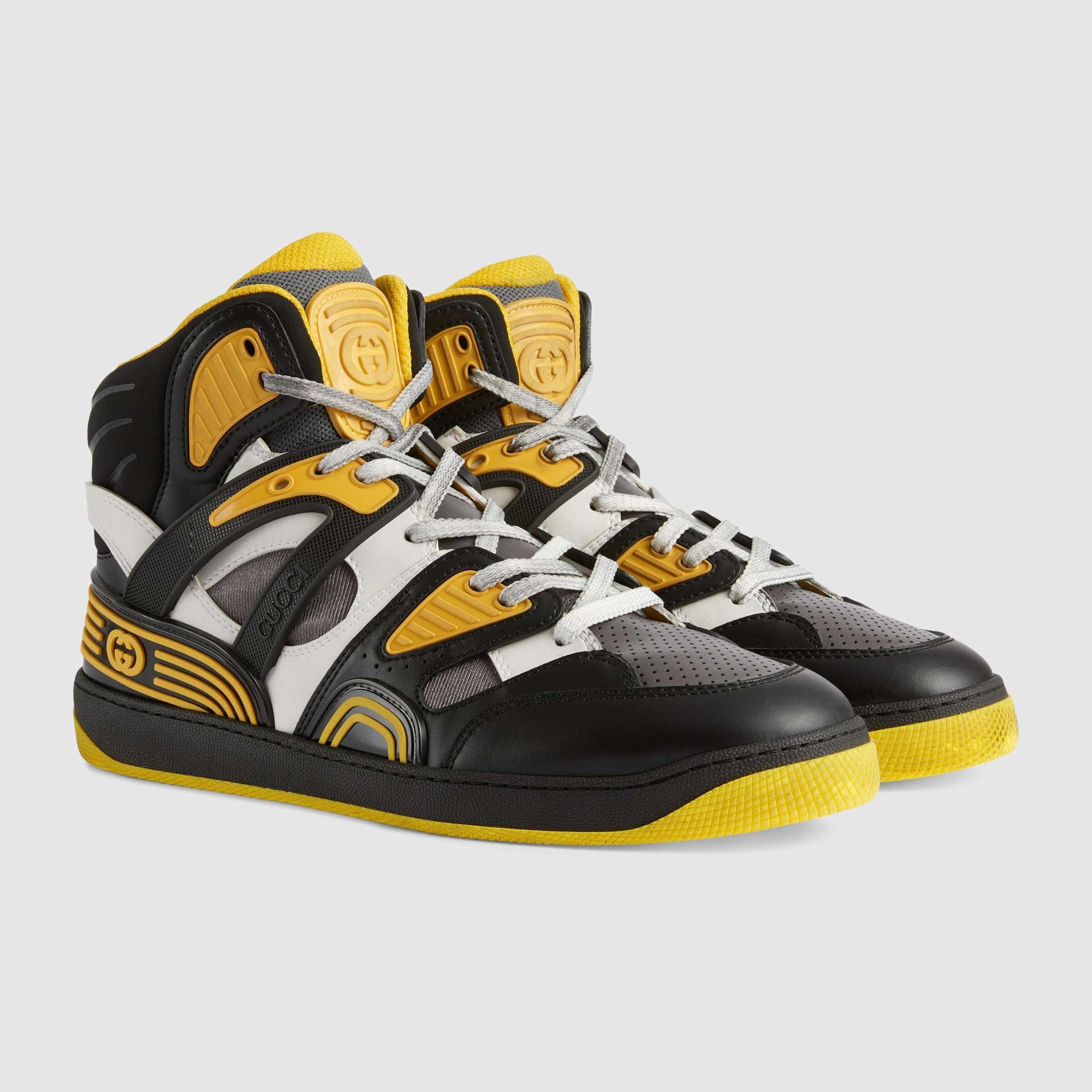 유럽직배송 구찌 GUCCI Gucci - Men's Gucci Basket sneaker with Interlocking G 6613082SH901098