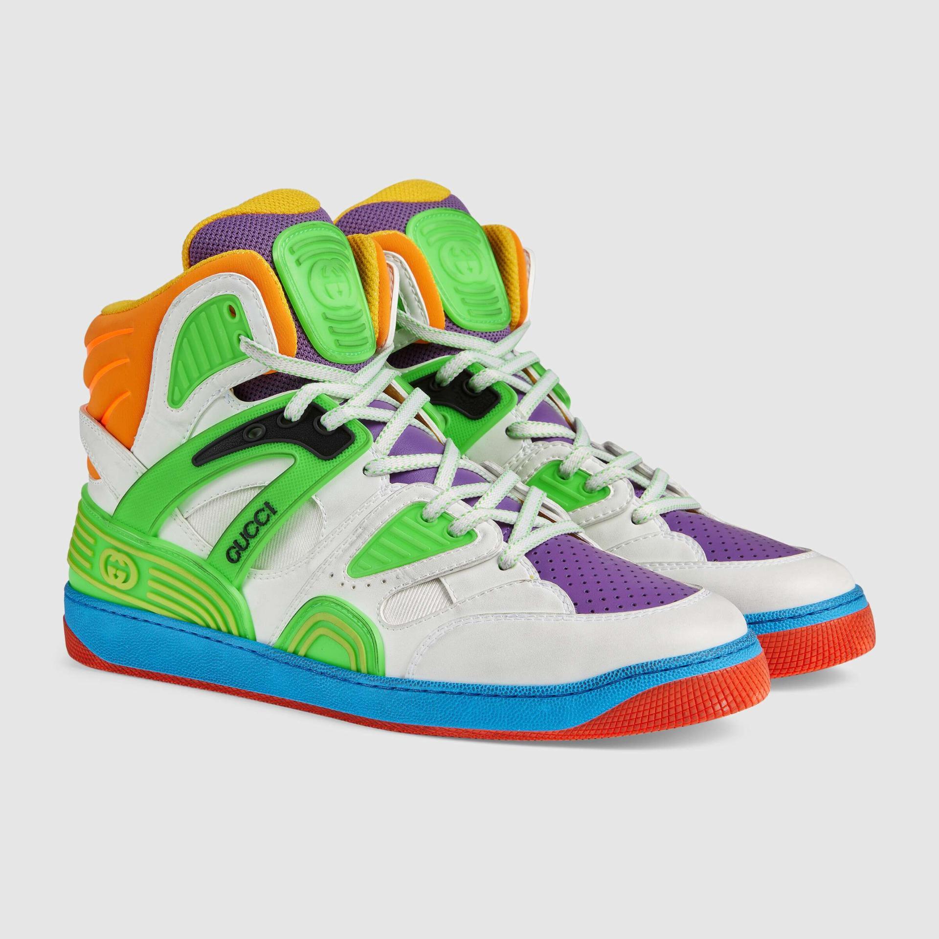 유럽직배송 구찌 GUCCI Gucci - Gucci Basket sneaker with Interlocking G 6613012SH809062