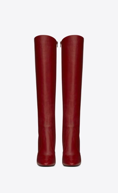 유럽직배송 입생로랑 SAINT LAURENT 68 boots in smooth leather 6707141Y8006008