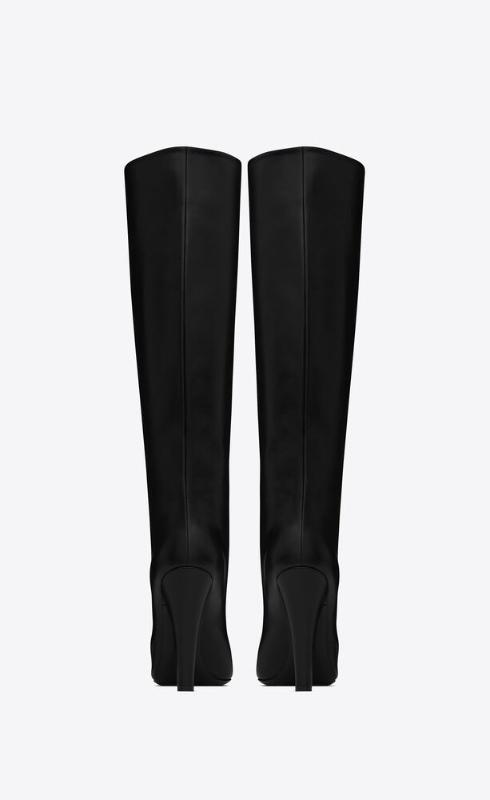 유럽직배송 입생로랑 SAINT LAURENT 68 tube boots in smooth leather 6676252W7001000