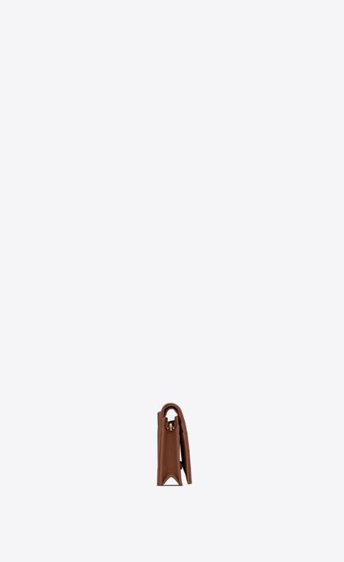 유럽직배송 입생로랑 SAINT LAURENT monogram card case in quilted grained leather 668290BOWA12516