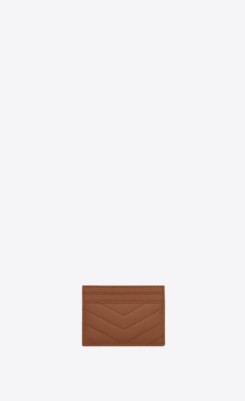 유럽직배송 입생로랑 SAINT LAURENT monogram card case in grain de poudre embossed leather 423291BOW012516