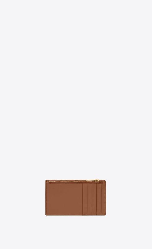 유럽직배송 입생로랑 SAINT LAURENT monogram fragments flap card case in quilted grain de poudre embossed leather 612808BOW012516
