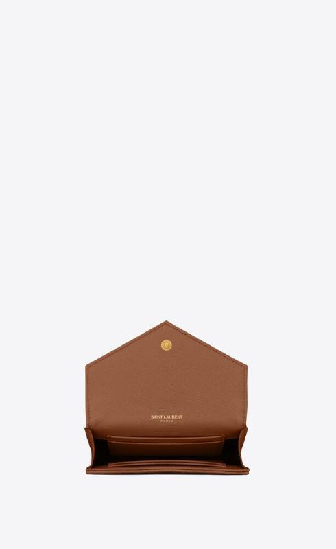 유럽직배송 입생로랑 SAINT LAURENT monogram small envelope wallet in grain de poudre embossed leather 414404BOW012516