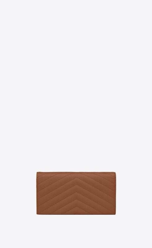 유럽직배송 입생로랑 SAINT LAURENT monogram large flap wallet in grain de poudre embossed leather 372264BOW012516