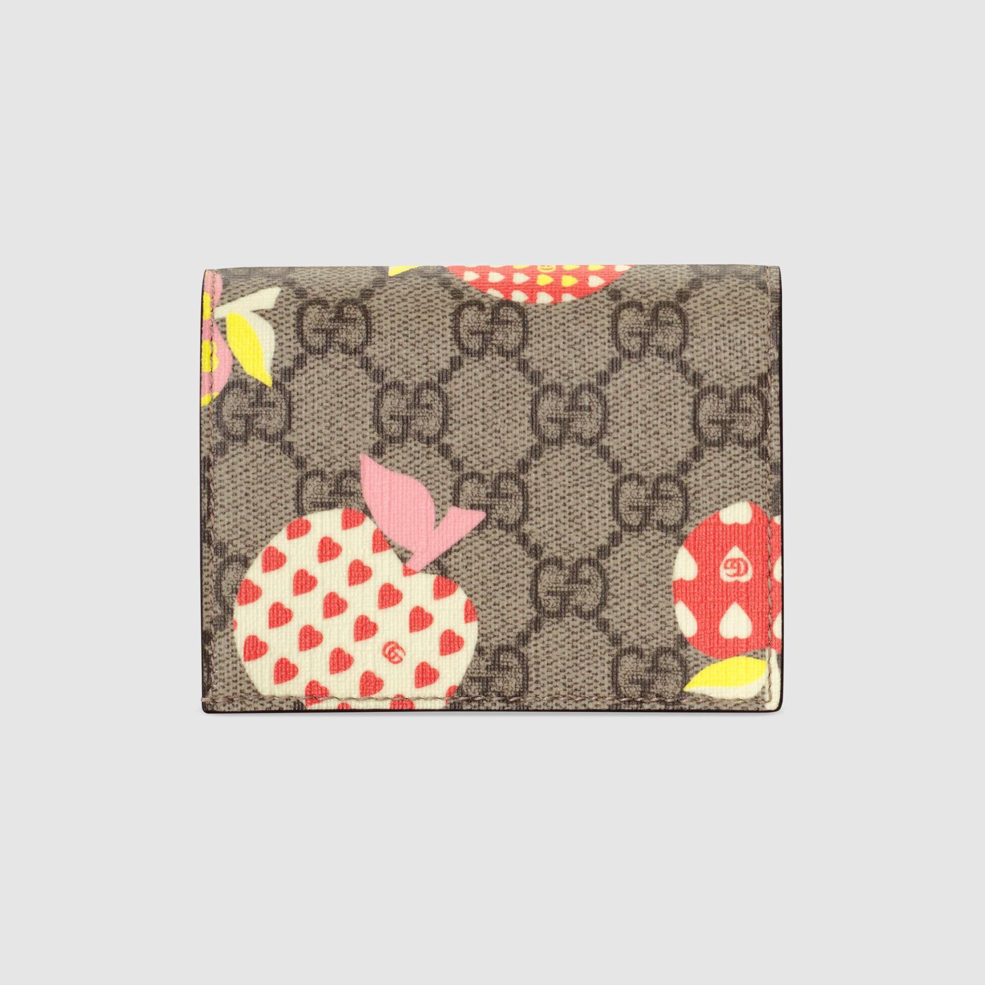 유럽직배송 구찌 GUCCI Gucci - Gucci Les Pommes card case wallet  66392222KAG9799