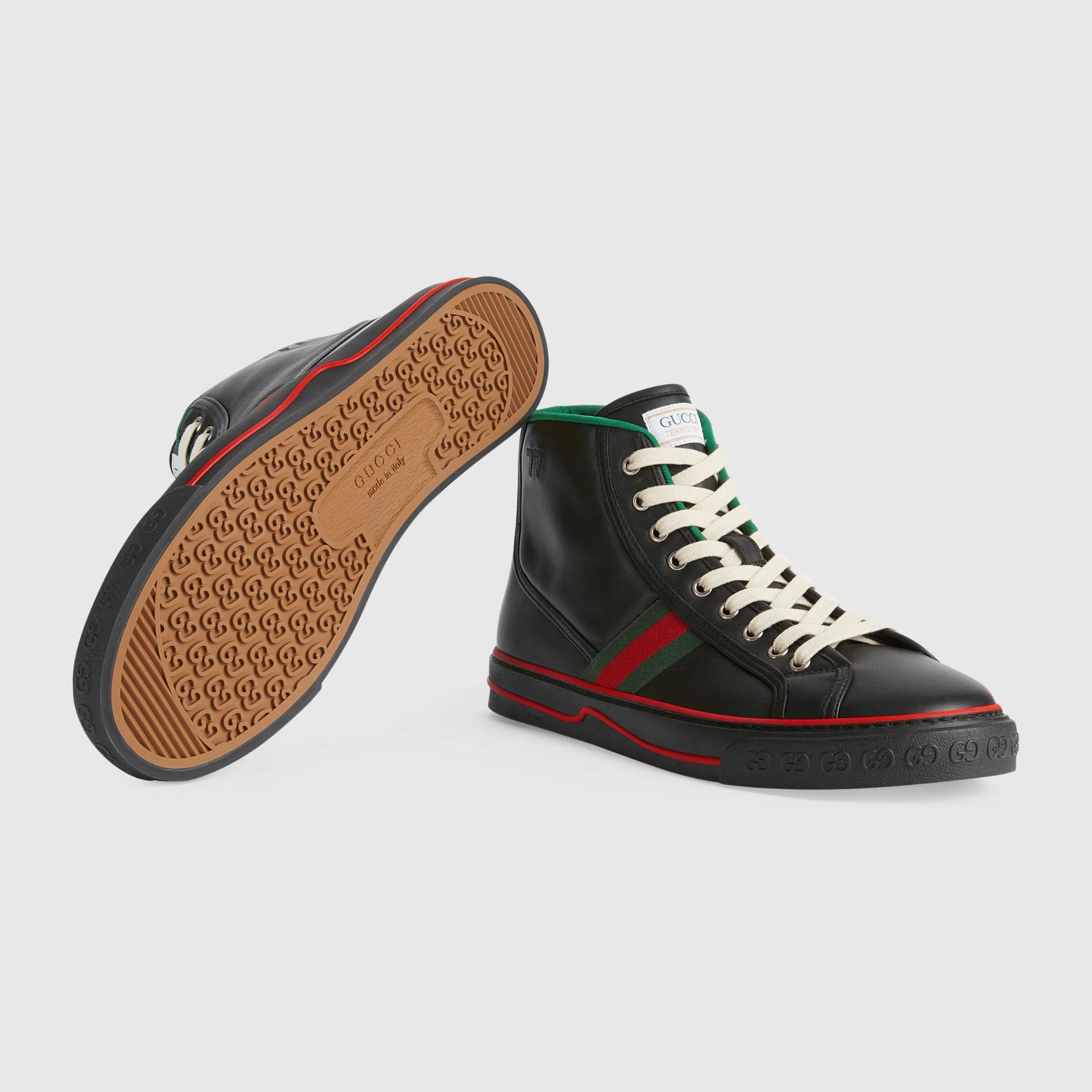 유럽직배송 구찌 GUCCI Gucci - Men's Gucci Tennis 1977 high top sneaker 64473417L201074