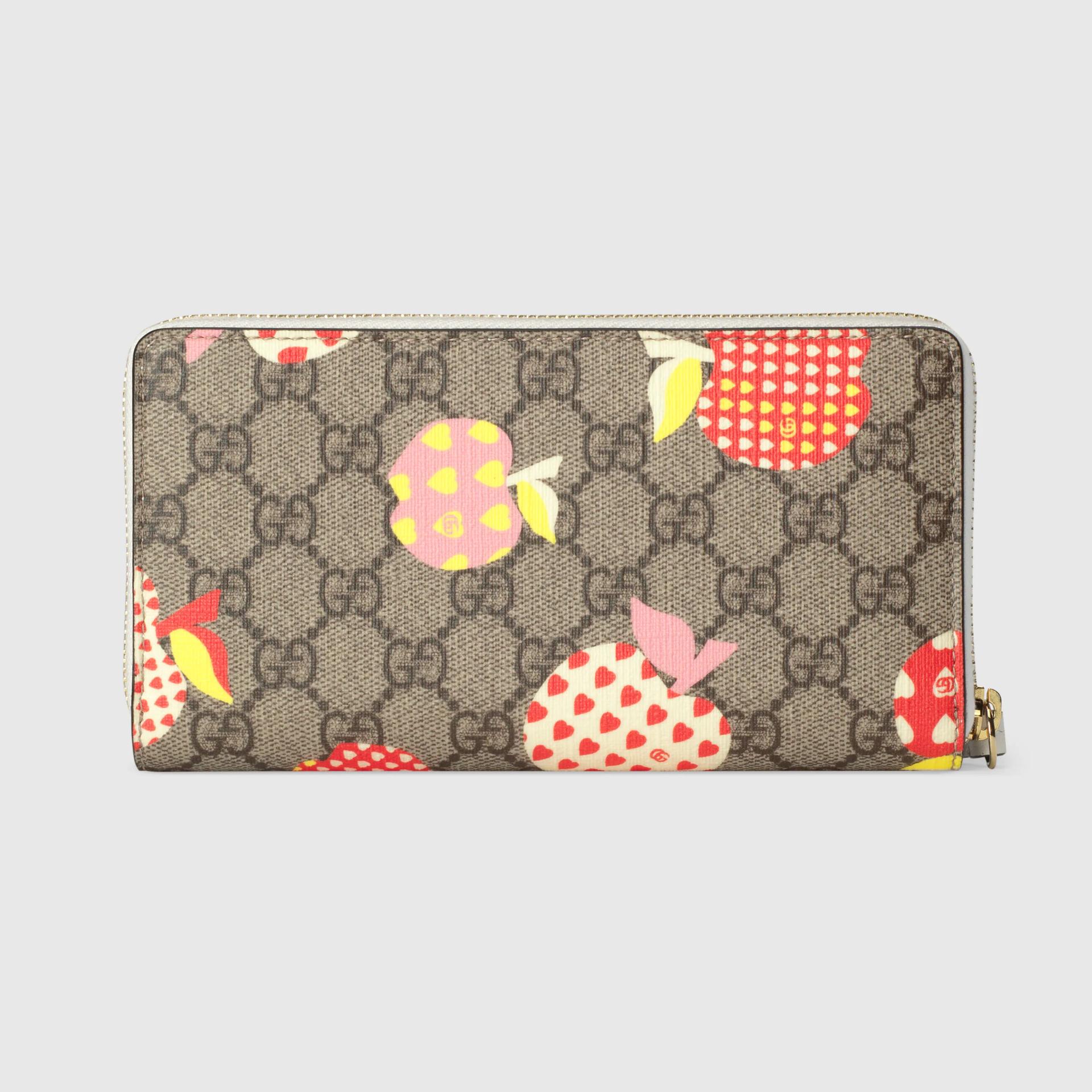 유럽직배송 구찌 GUCCI Gucci - Gucci Les Pommes zip around wallet  66392422KAG9799