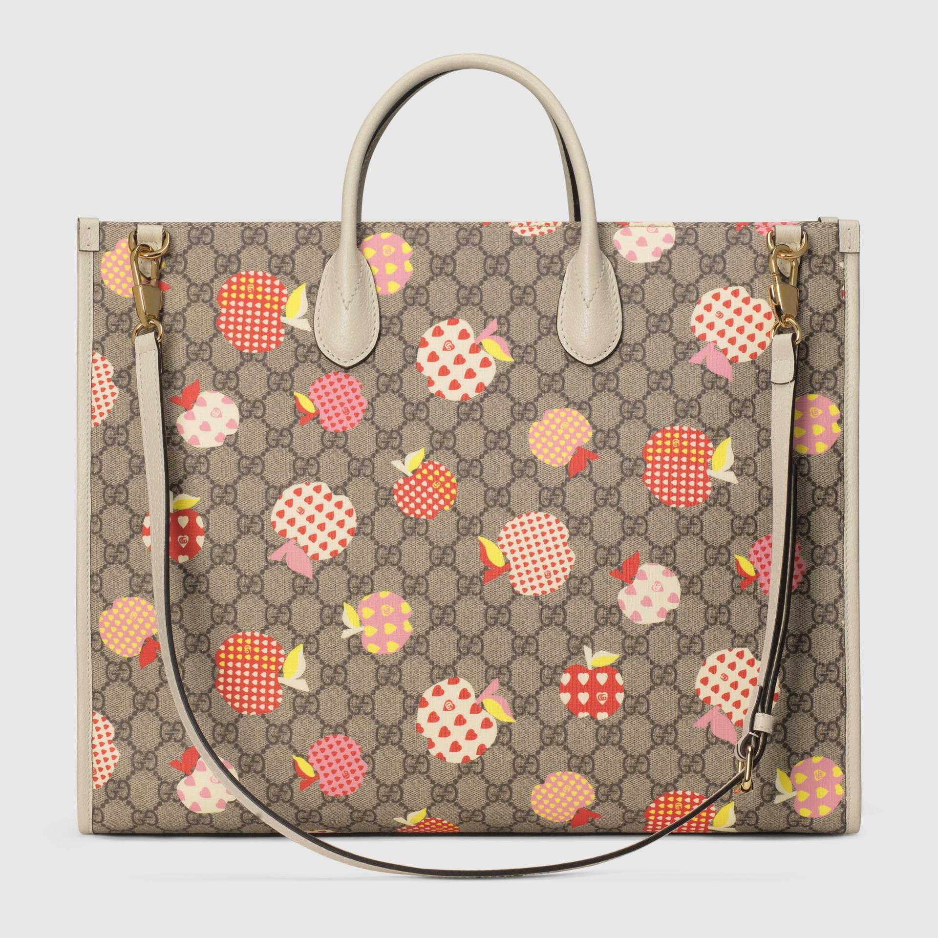 유럽직배송 구찌 GUCCI Gucci - Gucci Les Pommes large tote  65998022KFG9799