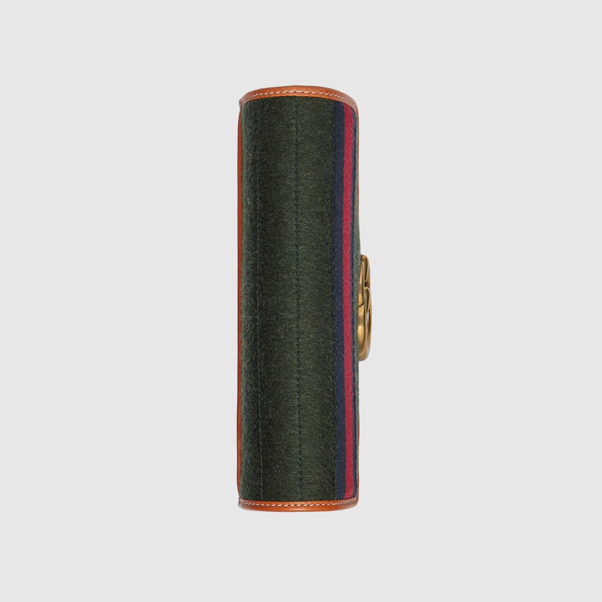 유럽직배송 구찌 GUCCI Gucci GG Marmont mini bag with Web 474575HS3MT3382