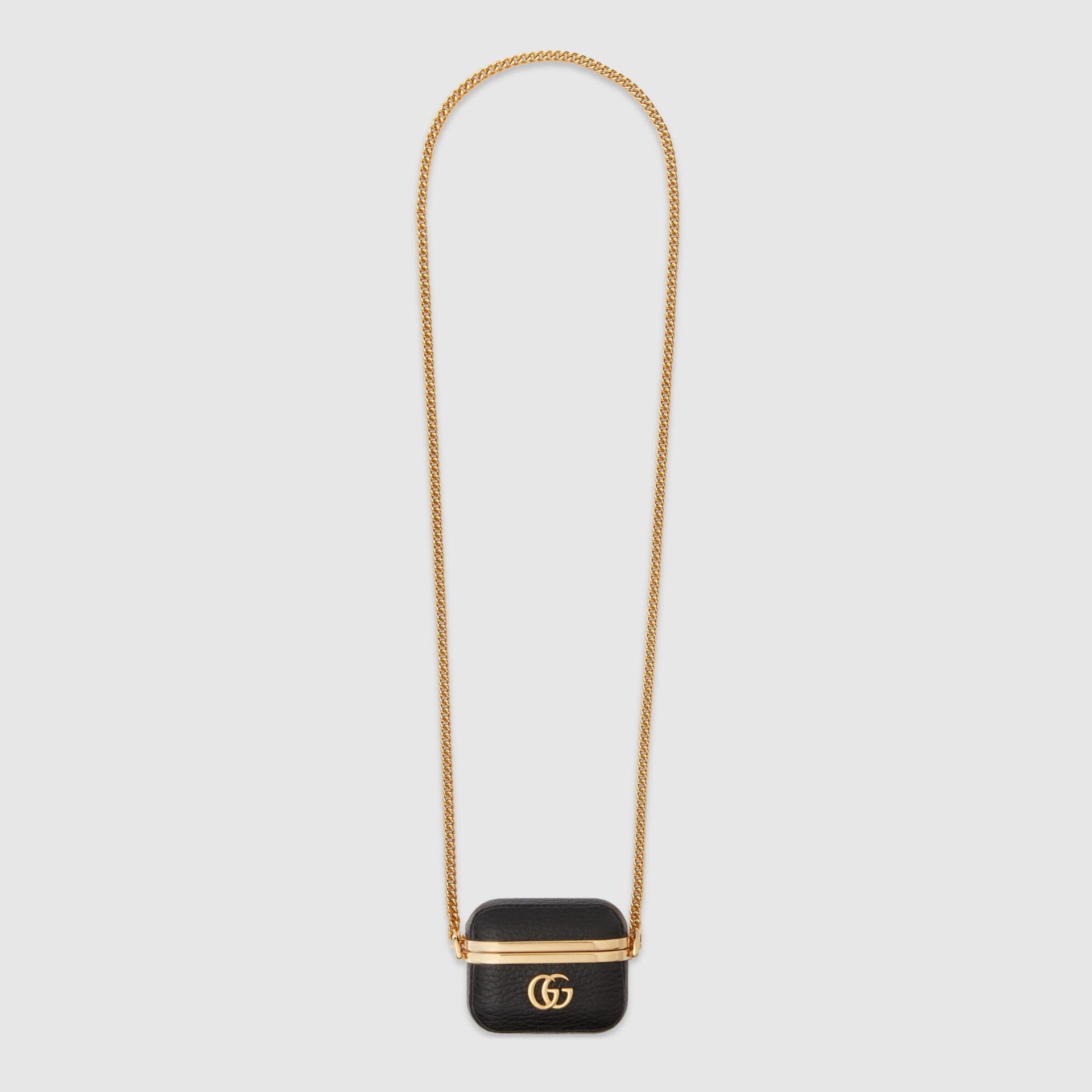유럽직배송 구찌 GUCCI Gucci Online Exclusive GG Marmont ear buds case, fits AirPods Pro 67596417WEG8457